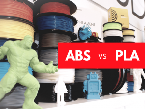 differences between abs and pla 3d printer filament